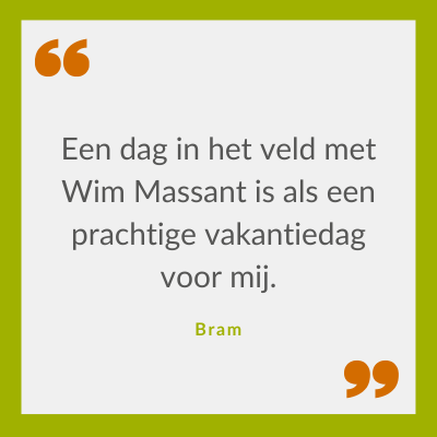 Quote over Wim Massant