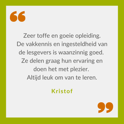 Quote Kristof over Tree Worker