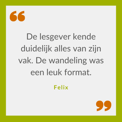 Quote Felix over Klimaatbestendig omgaan met waterschaarste